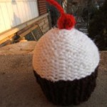 Cupcake with Cherry On Top