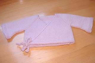 aaaeab8b14a8 Lovely seamless baby kimono knitting pattern by The Complete Fabrication.  Find ...