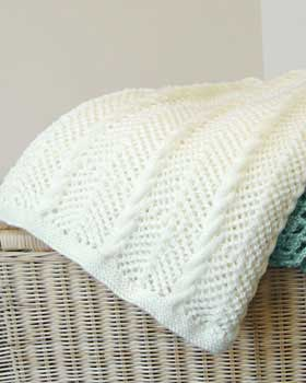 PATTERNS FOR KNITTING BLANKETS   Free Patterns