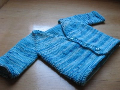How to Knit an Easy Baby Sweater and more free patterns | eHow.com
