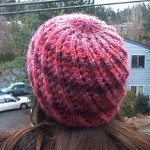 Lace Slant Hat