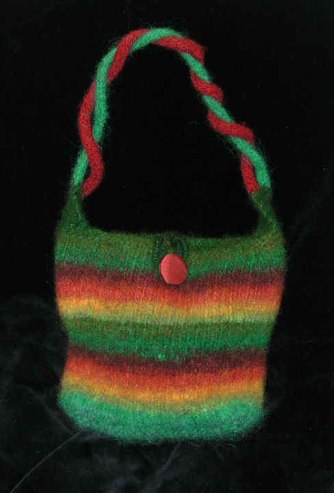 One Skein Noro Purse