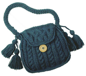 Knitted Bags Free Patterns : Pics Photos - Free Knitting Purse Patterns Knitting Handbag