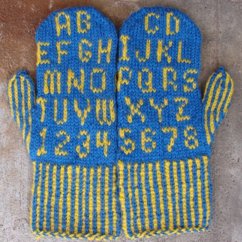 Knitted Oven Mitts Pattern Free Knitting And Crochet Patterns