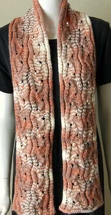 Free Knitting Pattern Aran Scarf, Knitting Pattern Central – Free
