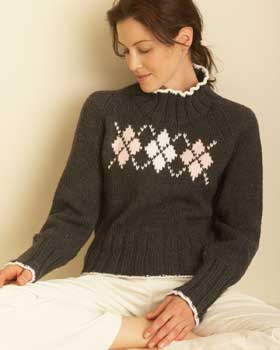 Free Knitting Pattern Argyle | Patterns Gallery