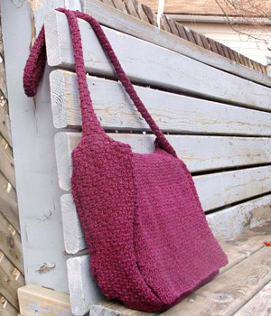 Free Knit Shoulder Bag Pattern 36