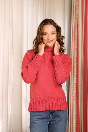 FREE CABLE KNIT SWEATER PATTERNS