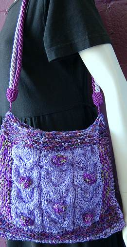 Free Free Cabled Bag Knitting Pattern Patterns Page 6 Of 8