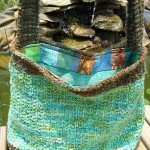 Lined Tote Bag Knitting Pattern