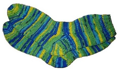 free basic sock knitting pattern from knit fish