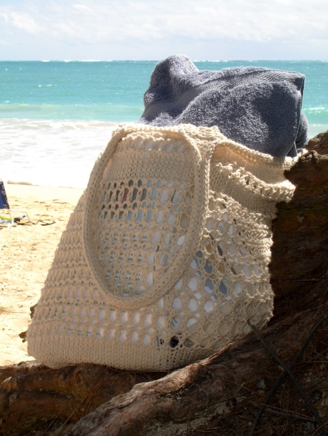 Free free beach bag knitting pattern Patterns ⋆ Knitting Bee (4 ...