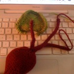 Beets - A Free Veggies Knitting Pattern