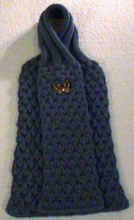 Knitted lace pattern scarf free knitting and crochet for Fave crafts knitting patterns