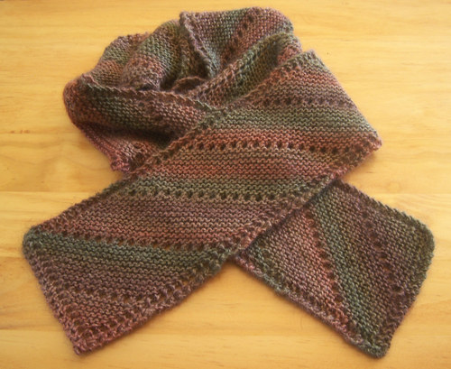 Bias Scarf Knitting Bee