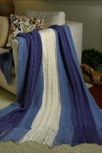 Free Knitting Pattern 80115ad Winter Lace Afghan Lion : AFGHAN FREE KNITTING PANEL PATTERN - VERY SIMPLE FREE ...