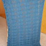 Blue Fern Lap Robe