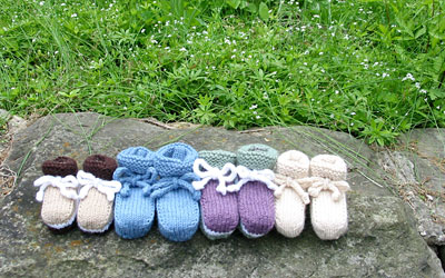 Crochet Baby Booties Pattern - Baby Nursery Decorating Ideas