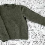 Sweater in Circular Knitting Chunky