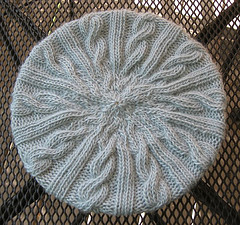 Woolly Wormhead - Meret free beret knitting pattern
