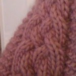Annie Cabled Scarf