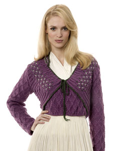 Round Neck Sweater And Cardigan Knitting Pattern. Buy instantly