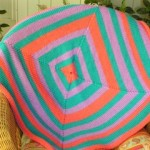 Circular Mitred Square Blanket