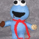 Cookie Monster Peep Pattern