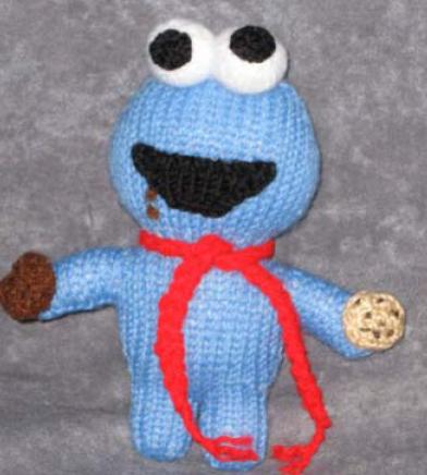 Elmo Peeps Knitting Bee