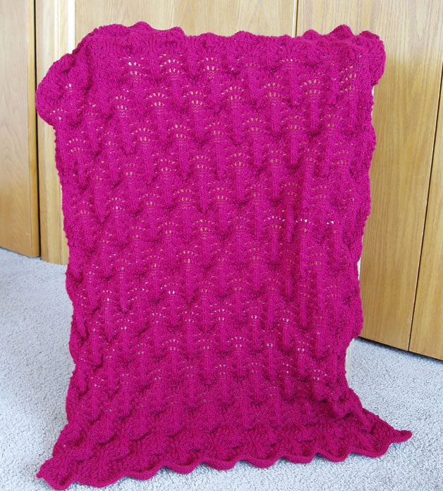 Can anyone give me a pattern for a lap blanket for old people in a