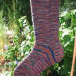 Celebratory Chevrons Socks