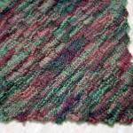Diagonal Basketweave Blanket