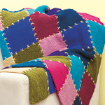 easy afghan Knitting Afghans