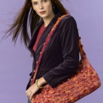 Felted Bobble Tote