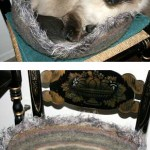 Felted Kitty Bed