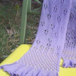 Flit & Float Scarf Pattern