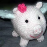 Petunia Flying Piggy