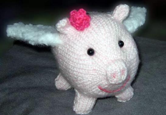 Petunia Flying Piggy