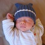 Huck's Baby Hat Knitting Pattern