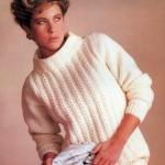 Galway Heather Aran Sweater