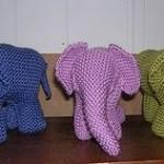 Garter Stitch Elephant