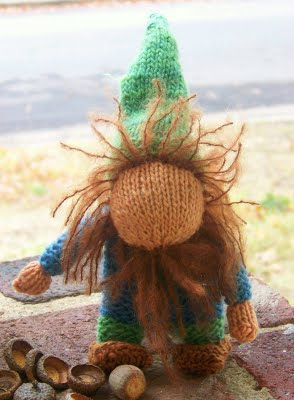 Free Knitting Pattern - Gnome from the Amigurumi Free Knitting