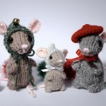 Holiday Mice Amigurumi