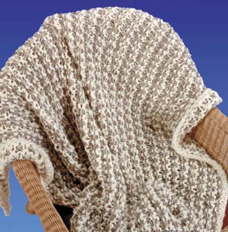 AFGHAN BASKETWEAVE FREE KNIT PATTERN FREE Knitting PATTERNS