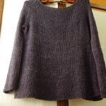 Ink Flared Sweater