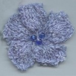 Knitted Flower Pattern