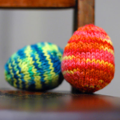 FREE KNITTING PATTERNS EASTER EGGS - VERY SIMPLE FREE KNITTING PATTERNS