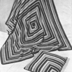 Square Rug and Cushion