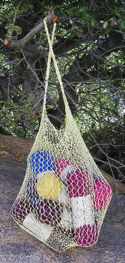 Crochet Plastic Bags into Beautiful Drawstring Bags - Yahoo