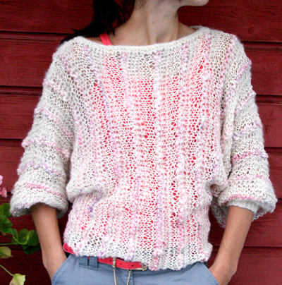 Summer Knitting Patterns : SUMMER SWEATERS FREE KNITTING PATTERNS - VERY SIMPLE FREE ...